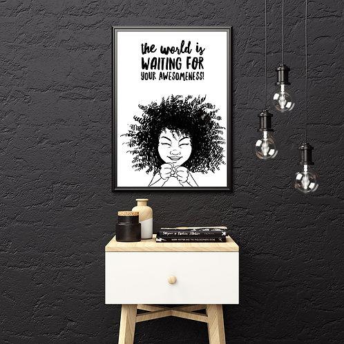 Kishem Downloadable Poster