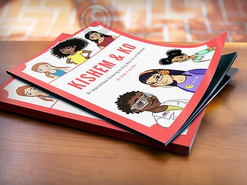 Kishem Colouring & Story Book