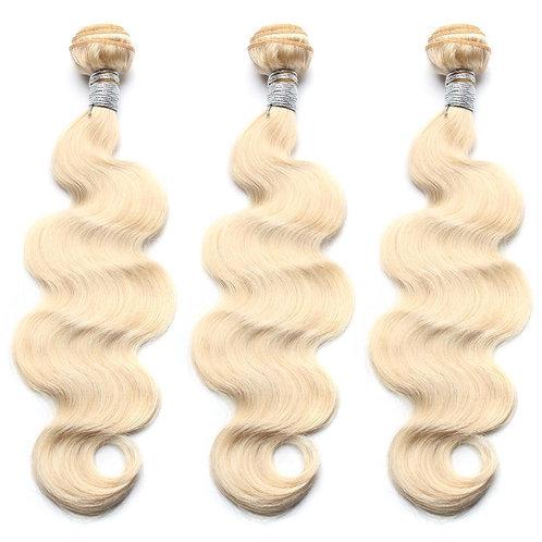 "613 Platinum Blonde Body Wave 10"""