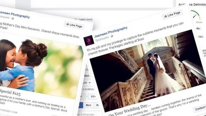 Facebook Ads For Photographers: 3 Killer Ad Ideas