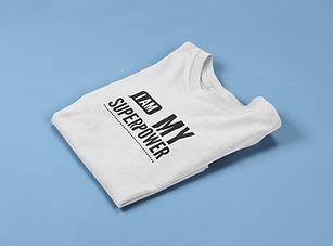 mockup-of-a-folded-kids-tshirt-on-a-soli
