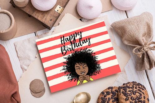 """Kishem """"Happy Birthday"""" Card"""