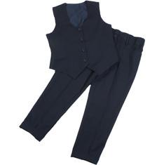 Комплект школьной формы для девочки (брюки и жилет)