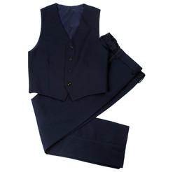 Комплект школьной формы для мальчика (жилет и брюки)