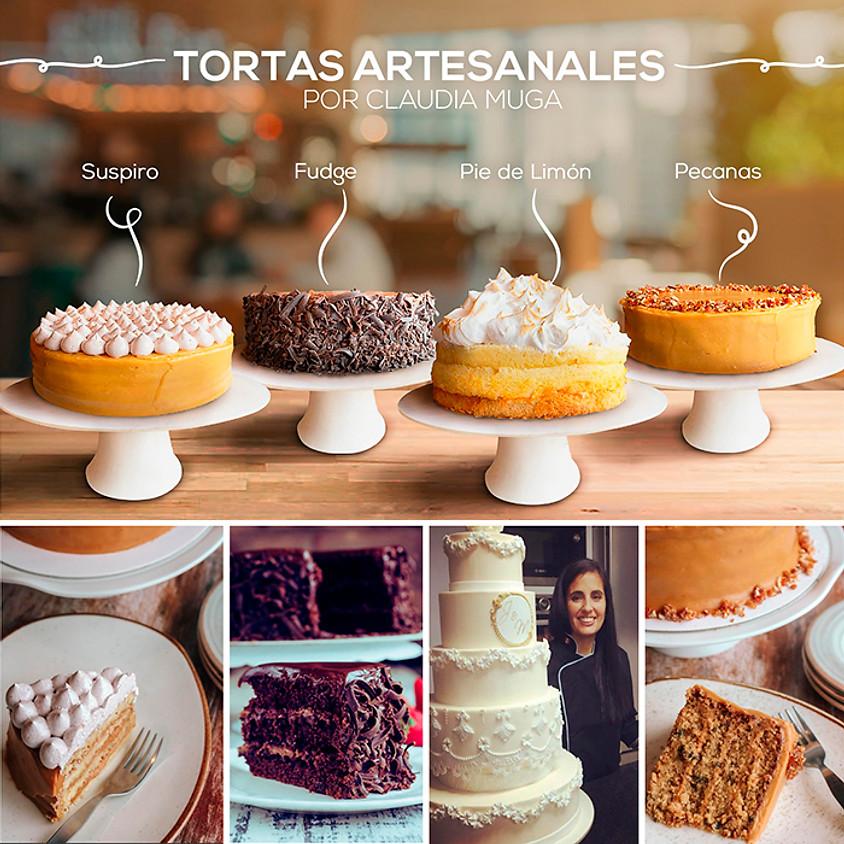 Tortas Artesanales por Claudia Muga con acento Peruano