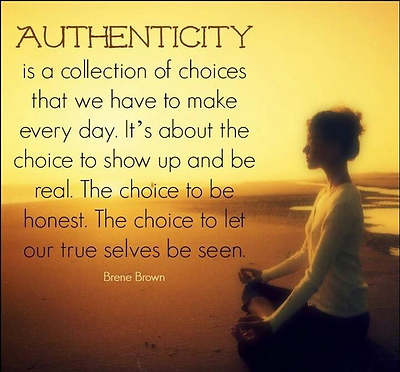 Authenticity from Within