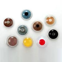 Custom prosthetic contact lens