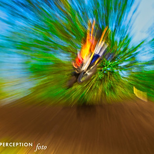 Abstract Motocross