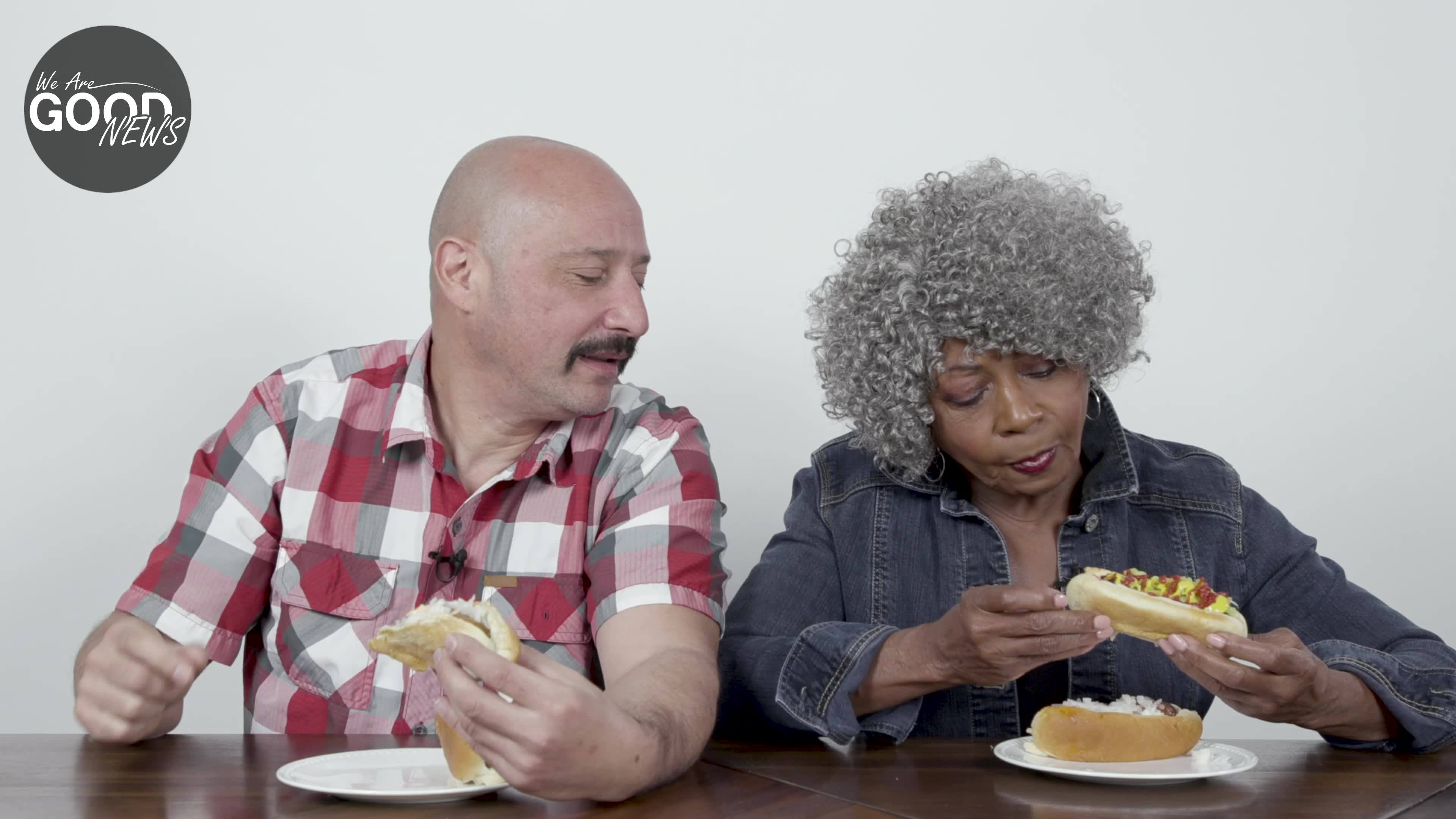 Baby Boomers Try Vegan Sausages For The First Time