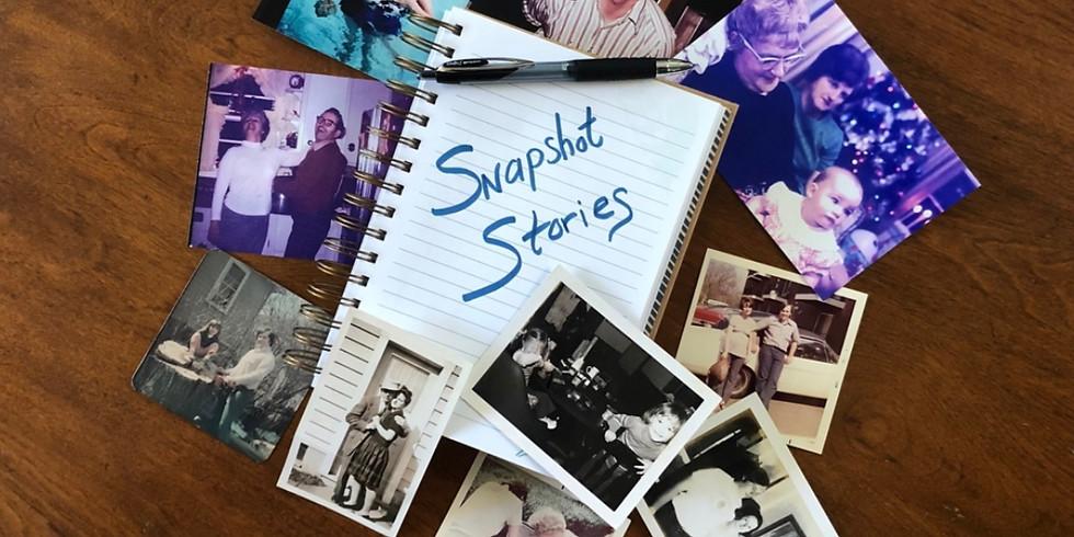 Snapshot Stories Workshop with Nicole Donovan