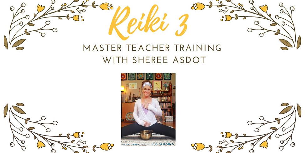 Reiki 3 Master / Teacher Certification