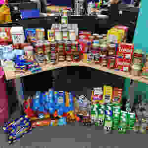 Items for food banks