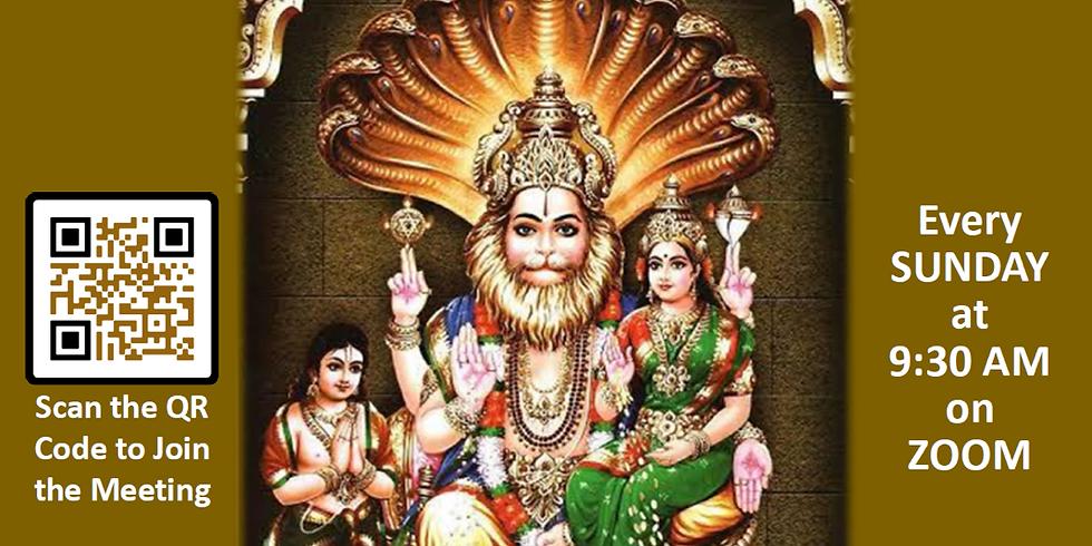 Shri Narasimha Kavacha chanting