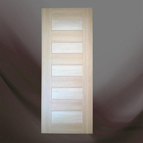"Birch 86z34x1.5"" Interior MDF Heavy Pre-Drilled Wooden Door With Casing"