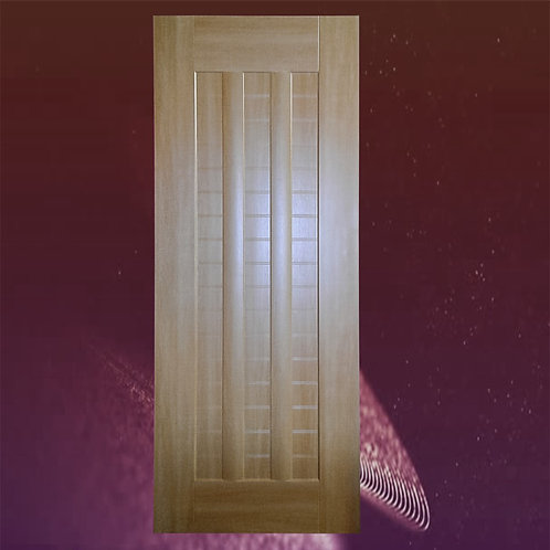 Latest Design Bambo Interior MDF Heavy Pre-Drilled Wooden Door With Casing86x32