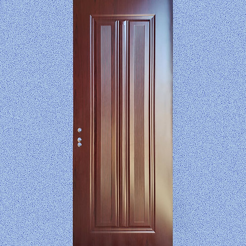 Latest Design  Interior MDF Heavy Pre-Drilled Wooden Door With Casing