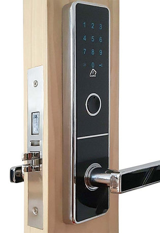 Black Glass Electronic  Touch Screen Password Lock 11'x 3'