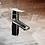 "Thumbnail: Masculine 7"" Bathroom Faucet Chrome Single Hole Basin Sink Faucet"