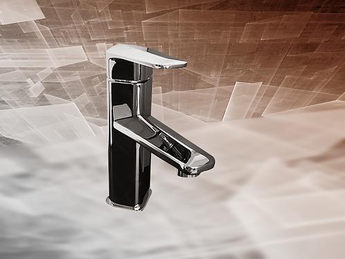 "Masculine 7"" Bathroom Faucet Chrome Single Hole Basin Sink Faucet"