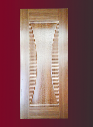 Pharaoh. Unique Design  3D Pre-Drilled Interior MDF Heavy Wooden Doors 86x34x1.5