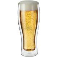 Double Wall Beer Glass (Set of 2)