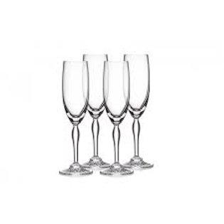 Ventura Champagne Flutes (Set of 4)