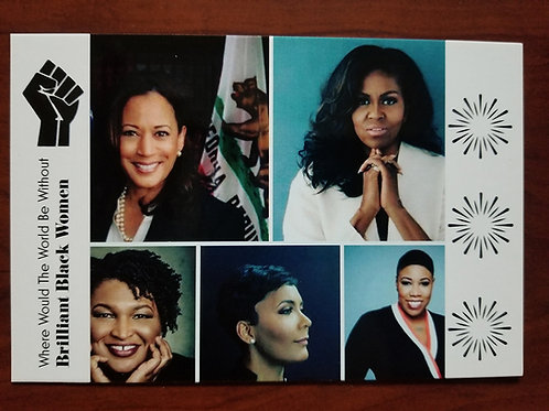 Brilliant Black Women Postcards
