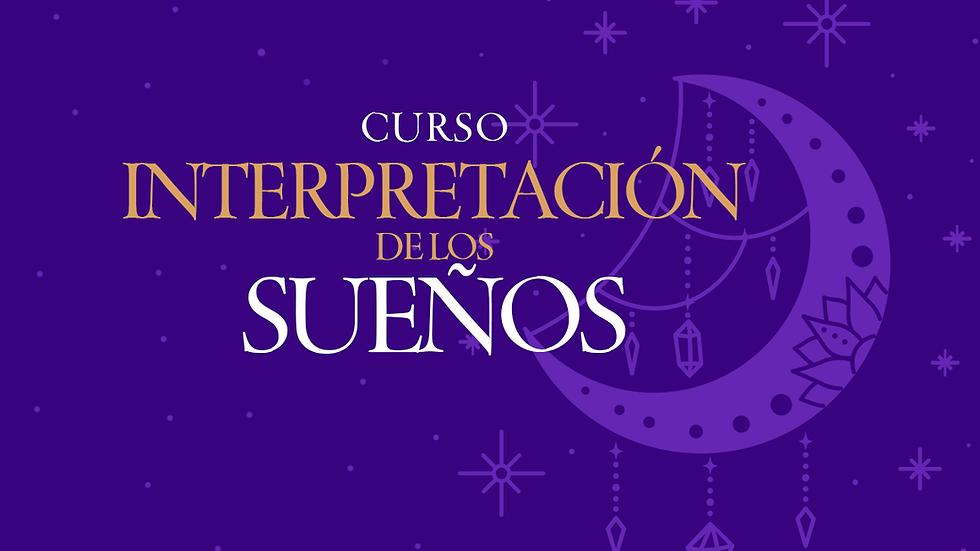 """Curso """"Interpretación de sueños"""""""