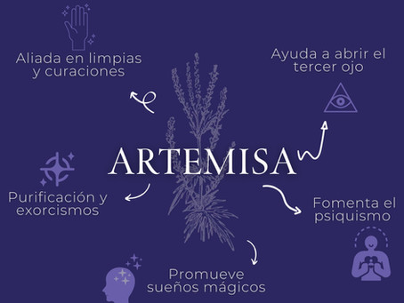 ARTEMISA. Usos mágicos