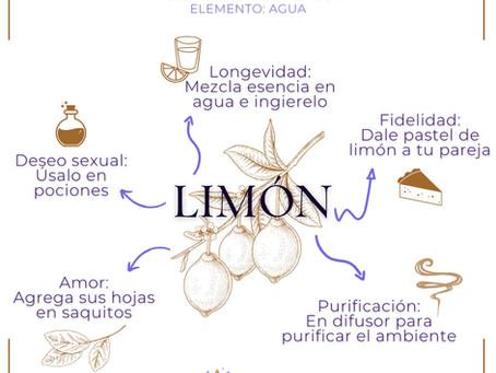 Limón. Usos mágicos