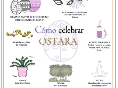 OSTARA- EQUINOCCIO DE PRIMAVERA.