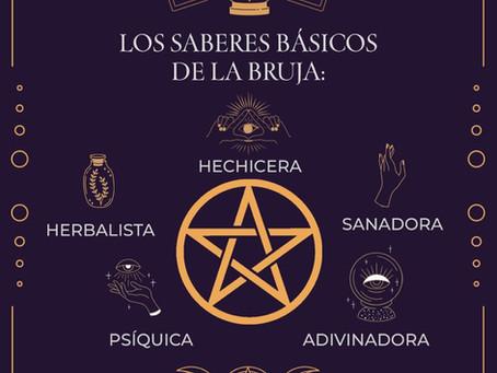 Los saberes básicos de la bruja