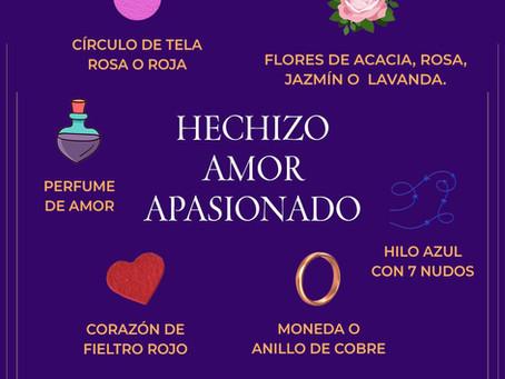 Hechizo. Amor Apasionado