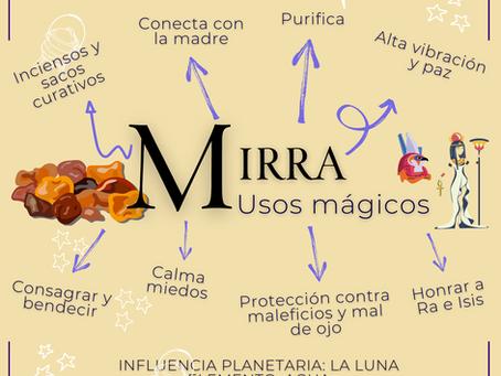 Mirra - Usos mágicos