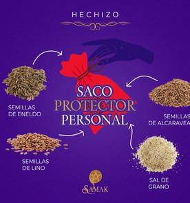Hechizo saco protector
