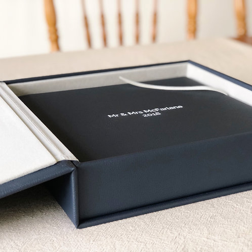 GENUINE LEATHER ALBUM BOX