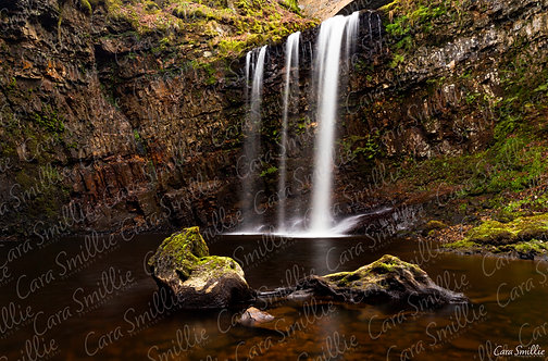 Dalcairney Falls Waterfall Print