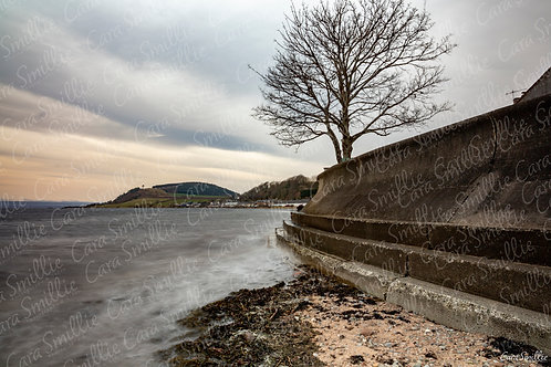 Avoch Sea Wall Print