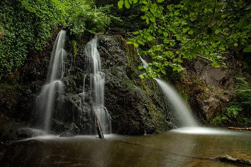 Fairy Glen Waterfall Print