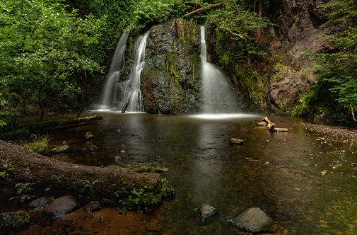 Fairy Glen Waterfall Print 2