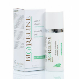 Masque Vitaminé à l'acide hyaluronique BIORELINE 50 ml