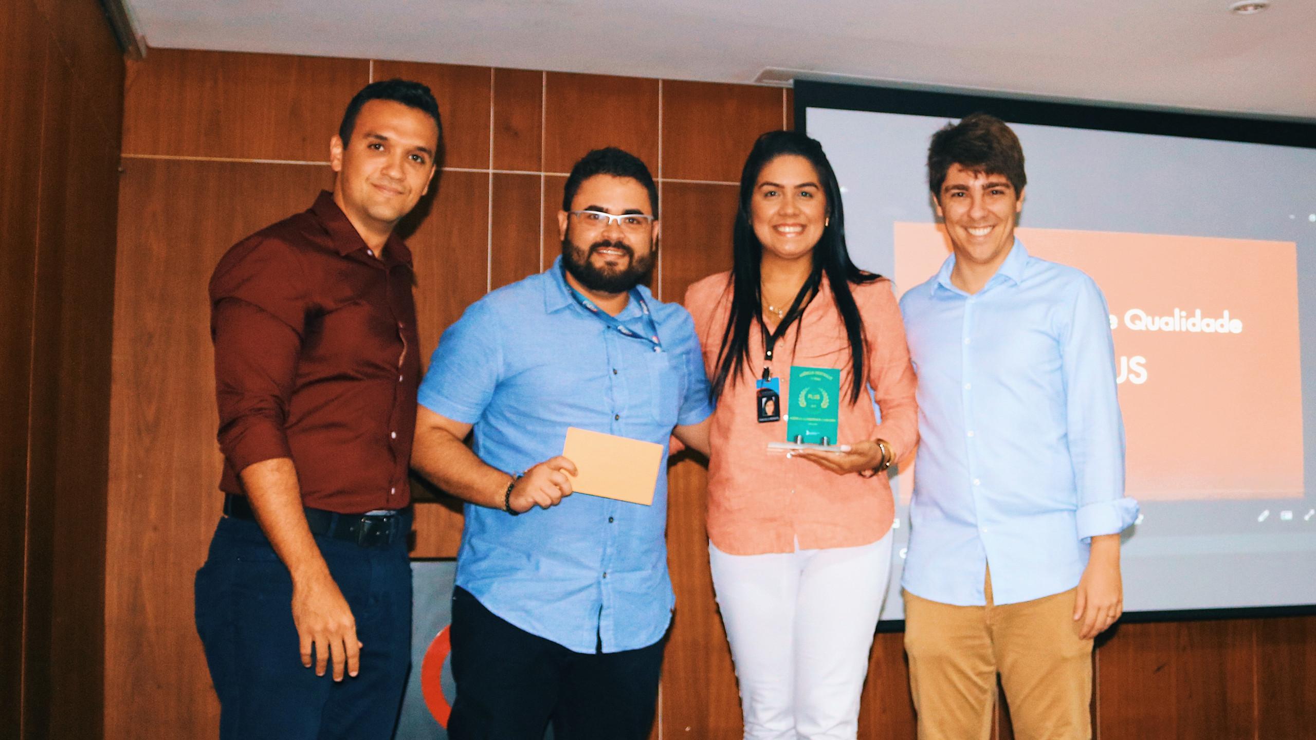 Rômulo e Fabrícia, agentes de Caruaru, vencedores na categoria Aço.