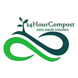 2x2 24HourCompost Logo White background.
