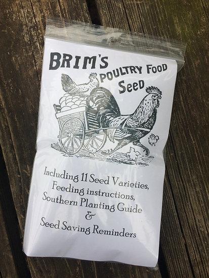 Brim's Poultry Food Seed
