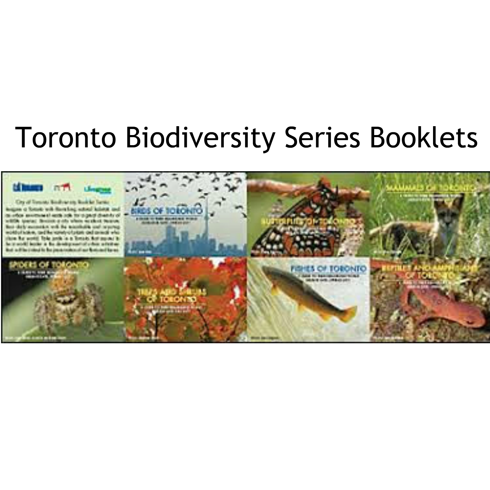Toronto Biodiversity Series Booklets