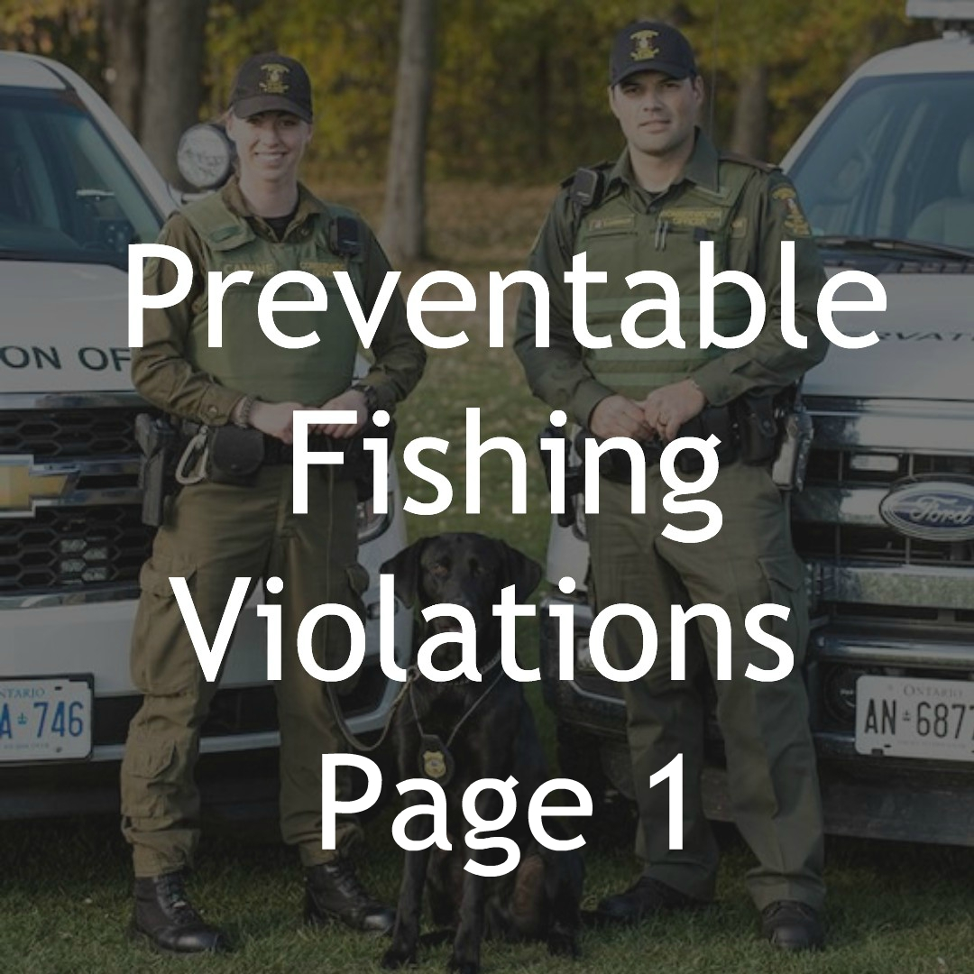 FISHING VIOLATIONS 1