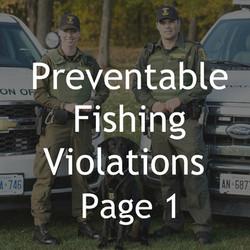 FISHING VIOLATIONS 1