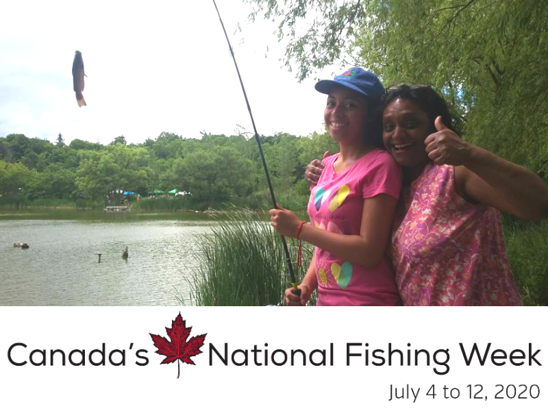 Canada's National Fishing Week