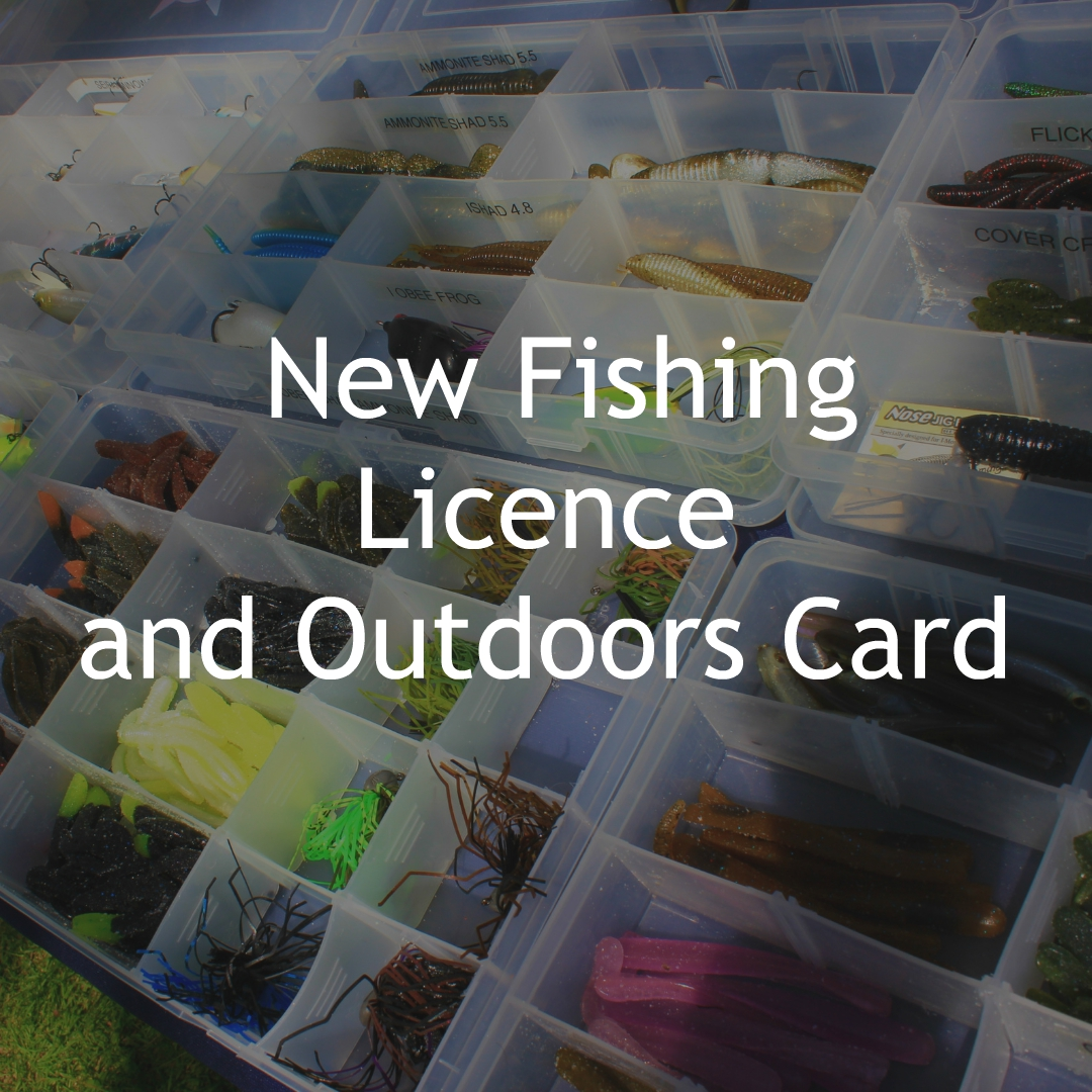 NEW FISHING LICENCE