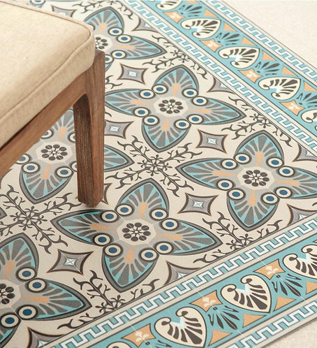 Beija Flor Vinyl Floor Mat